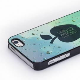 Coque personnalisée iPhone 5 rigide / noir