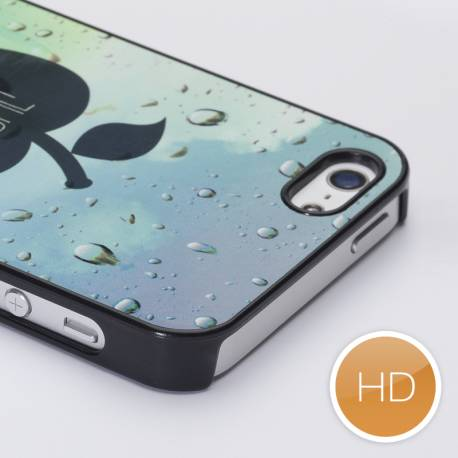 Coque personnalisée iPhone 5 rigide noir