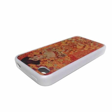 Coque personnalisée iPhone 5 silicone blanc
