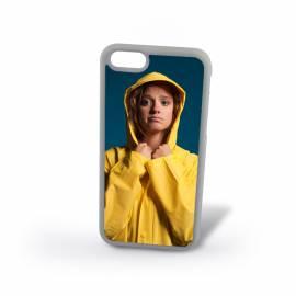 Coque personnalisée iPhone 6 plus ou 6S plus silicone Blanc / 5,5