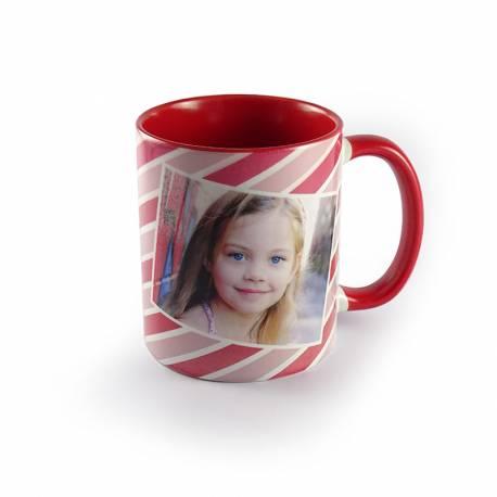 Mug personnalisé rouge