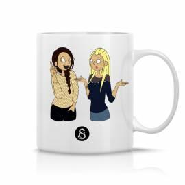 Mug Caroline et Safia Queskonf / Figure
