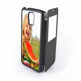 Étui personnalisé clapet Galaxy S5 HD