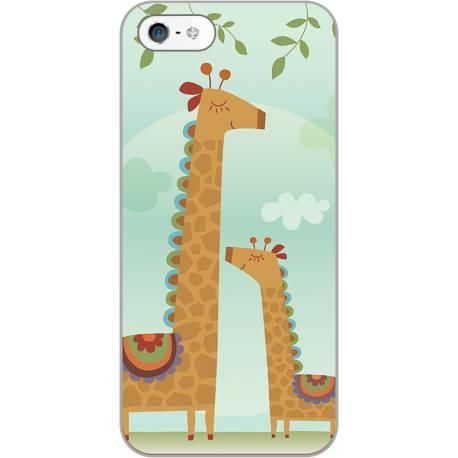 Coque personnalisée girafe