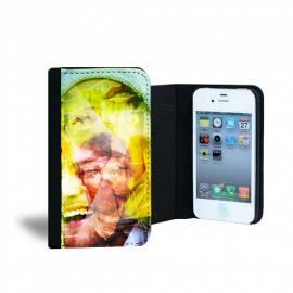 Étui personnalisé à rabat pour iPhone 4 - 4s