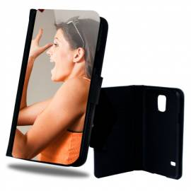Étui personnalisé à rabat clapet Galaxy S5