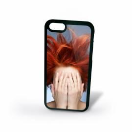 Coque personnalisée iPhone 6 ou 6S silicone Noir / 4,7