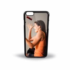 Coque personnalisée iPhone 6 rigide Noir  / 5,5