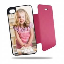 Étui personnalisé à clapet pour iPhone 5 / 5s Rose