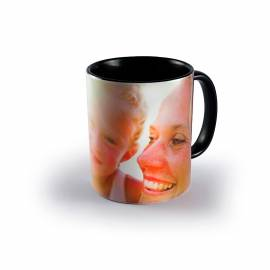 Custom mug black