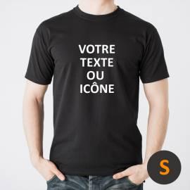 Custom t-shirt Black S