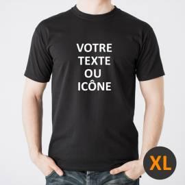 Custom t-shirt black XL