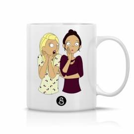 Custom mug caroline et safia