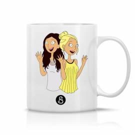 Mug Caroline et Safia Hello Hello / logo