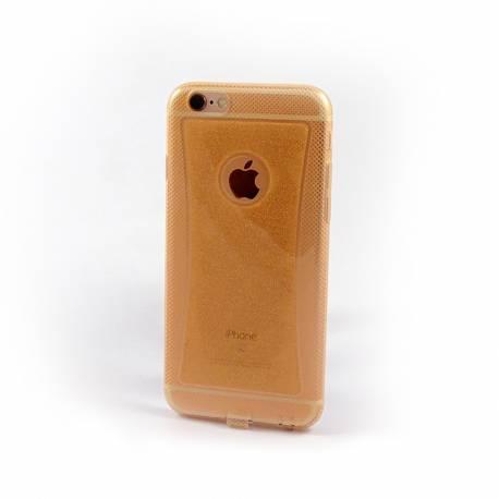 coque iphone 6 jaune silicone